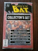 Shadow of the Bat the Last Arkham Part 1 of 4 Comic Book 1992 Sealed Set~Poster~