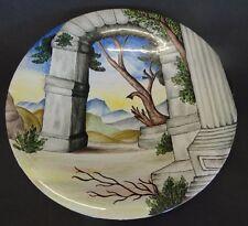 Keramik-Teller, handbemalt, D-25 cm  (248/2028)