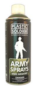 Plastic Soldier Company   German Field Grey Infantry Spray Paint SP006 * New *