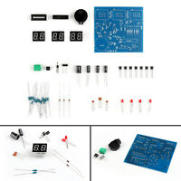 AT89C2051 6 Digit LED Électronique Clock Led Parts DIY Kit AF