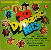 20 Dynamic Hits (1973) Daniel Boone, Osmonds, Windows, Simon Butterfly, M.. [LP]
