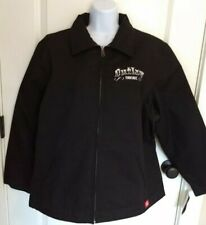 "DICKIES Woman's 2XL Classic-Fit Eisenhower Jacket ""BLACK"" ""OUTLAW THREADZ""  NWT"