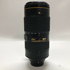 Nikon AF-S NIKKOR 80-400mm f/4.5-5.6 G ED VR Lens with ISSUE READ DESCRIPTION