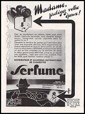 Publicité Allume  - Cigare Voiture Light car Tobacco vintage ad  1933 -4i