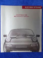 Porsche 911 Carrera 2 tiptronic - Typ 964 - Prospekt Brochure 09.1990