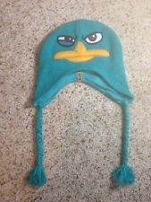 PHINEAS and Ferb movie Cartoon  DISNEY  Cap Beanie Ski HAT One Size Fits All Ked