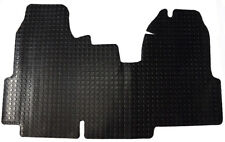 Ford Transit MK7 Van 2006-2013 Tailored Black 3mm Penny Rubber Van Floor Mat