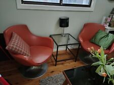 Vintage Retro swivel chairs (6 available).