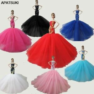 """Fashion Mermaid Clothes For 11.5"""" Doll 1:6 Fishtail Wedding Party Dress 1/6 Toy"""