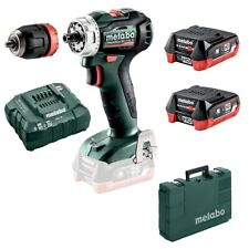METABO Batterie-Percussion POWERMAXX BS 12 BL Q 2 x 4,0 Ah LiHD Valise Chargeur