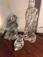 Lenox Holy Family GLASS Jesus Mary Joseph Made in Germany Lenox