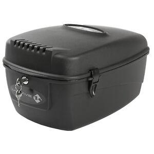 Fahrrad Topcase Helmbox Fahrradkoffer 17 Liter abschließbar Helmkoffer M-Wave