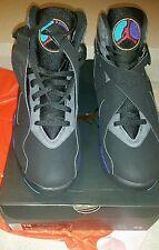Nike Air Jordan Retro 8 Negro como Baloncesto Deportivo Lifestyle Zapatillas