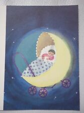 Large map baby child nursery rhyme song japanese japanese baby card new rare