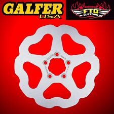 Galfer Front Solid Wave Rotor For 2010-2013 HD XL 1200 X Forty Eight DF680W
