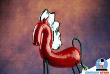 """Keramik Figur Pferd moderne Kunst """"Greta von Reitheim"""" 26cm groß Deko Handarbeit"""
