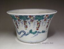 Beautiful Chinese Antique Doucai Porcelain Bowl with Mark