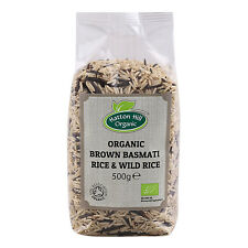 Organic Brown Basmati & Wild Rice Mix 500g Certified Organic