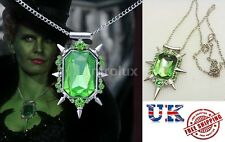 Once Upon a Time Character Wicked Witch Zelina Crystal Pendant Necklace - NEW