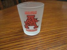 ARKANSAS RAZORBACKS shot glass