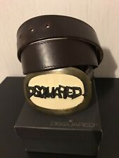 DSQUARED2 Vintage Leather Belt Collector Piece F/W '01