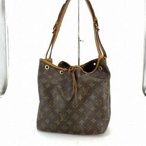Louis Vuitton M42226 Petit Noe Monogram Shoulder Bag Cross Body #DX197-242