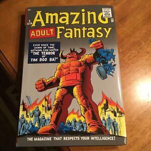 AMAZING ADULT FANTASY Omnibus SLIGHT DAMAGED Marvel Comics Hardcover Jack Kirby