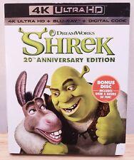 Shrek (4K Ultra Hd + Blu-ray, 2021, 20th Anniversary Edition) No Digital