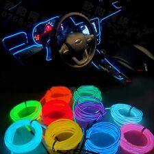 113CM Auto Kein LED EL Ambientebeleuchtung Innenraumbeleuchtung Lichtleiste Neu