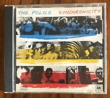 The Police Synchronicity CD West Germany A&M CD-3735 RARE! OOP Sting Target