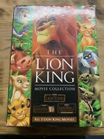 The Lion King Trilogy Collection DVD set