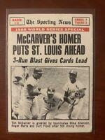 1969 Topps #164 World Series Game 3/Tim McCarver/w/Maris