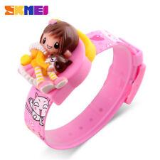 SKMEI Fashion Children Cartoon Watch for Girl Lovely Gift Kid Digital Wristwatch