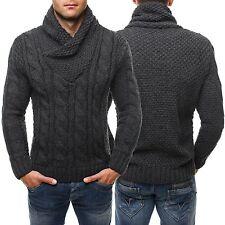 Grobe Herren-Pullover & -Strickware ohne Verschluss