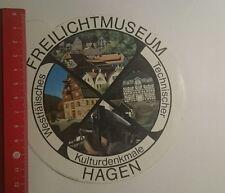 Aufkleber/Sticker: Freilichtmuseum Hagen (250117138)