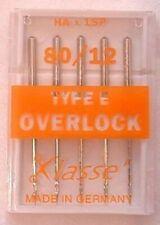 Klasse Overlocker Needles Type E System Hax1sp