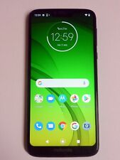 Motorola Moto G7 Power Marine Blue Single SIM Unlocked - Works but bad sound