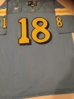 Vintage Reebok UCLA Bruins Jersey Size 56 Number 18 Worn