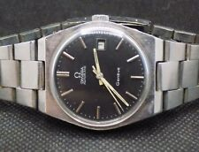 Omega cal.2481 Automatic Geneve, Swiss Made Mens Automatic Watch Stainless Steel