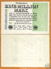 Germany, 1,000,000 (1 million) Mark, 1923, P-102, aUNC