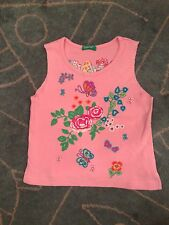 United color of Benetton girl's sleeveless top size 2 years