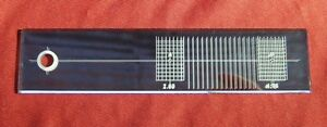 Cartridge/Stylus Mirror Alignment Protractor for Improved Sound & Reduced Wear