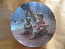 Luke & Yoda on Dagobah - Star Wars Plate Hamilton Collection 1987  #1861U