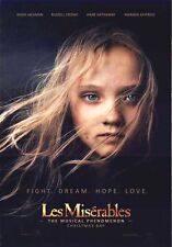 LES MISERABLES - 2012 - orig 27x40 D/S Movie Poster - Adv Style - ANNE HATHAWAY