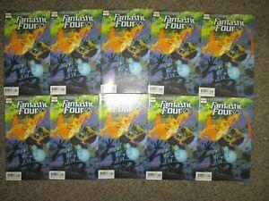 WHOLESALE LOT 10 FANTASTIC FOUR 1 ANNIHILATION SCOURGE - $50 COVER - NM+