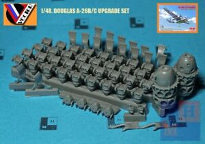 """1/48. Douglas A-26B/C engines resin set, by """"Vector"""" VDS 48-125"""