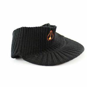 Nixon Visor Headband Beanie Black Orange One Size