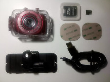 Rollei Touchscreen Actioncam Youngstar HD Red + Helmet Holder+ 2GB Micro SD Card
