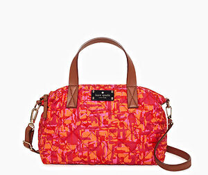 NWT KATE SPADE NY NEWBURY PARK SMALL RILEY PURSE SATCHEL - VIVID-MARA - $298