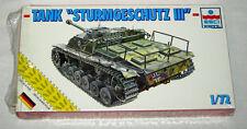 ESCI 8328 GERMAN TANK STURMGESCHÜTZ III (1/72)
